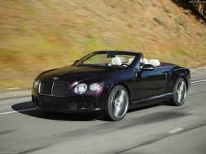 CARS. Bentley Convertible. Black 1