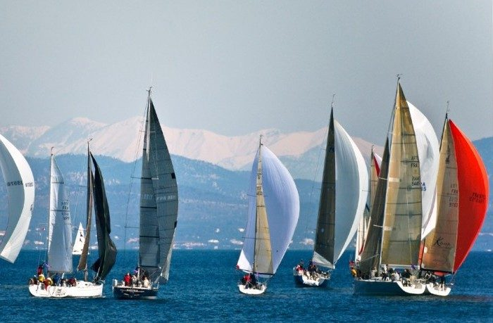 ST TROPEZ. Yachts at sea