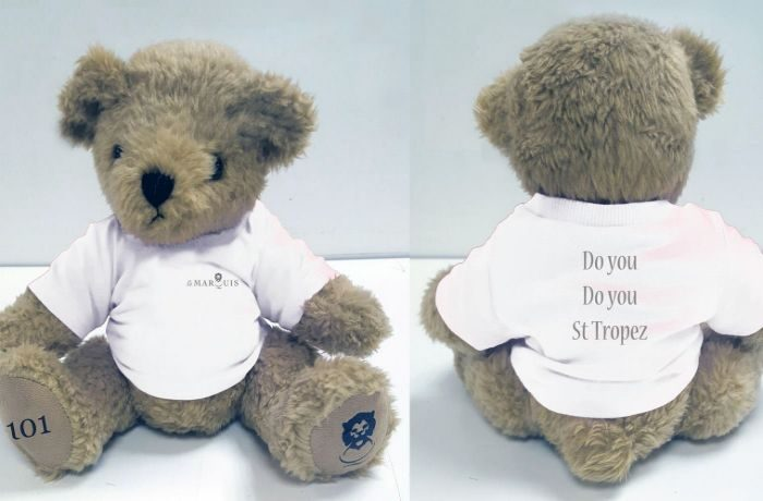 St Tropez Welcome Bear.concierge