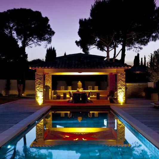 VILLA AMOUR_-Pool-Terrace-at-Night-PRODUCT