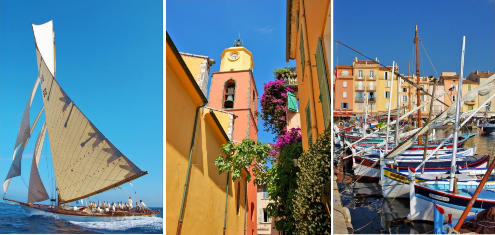 ST TROPEZ. Home Page