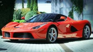 CARS. Ferrari. Red