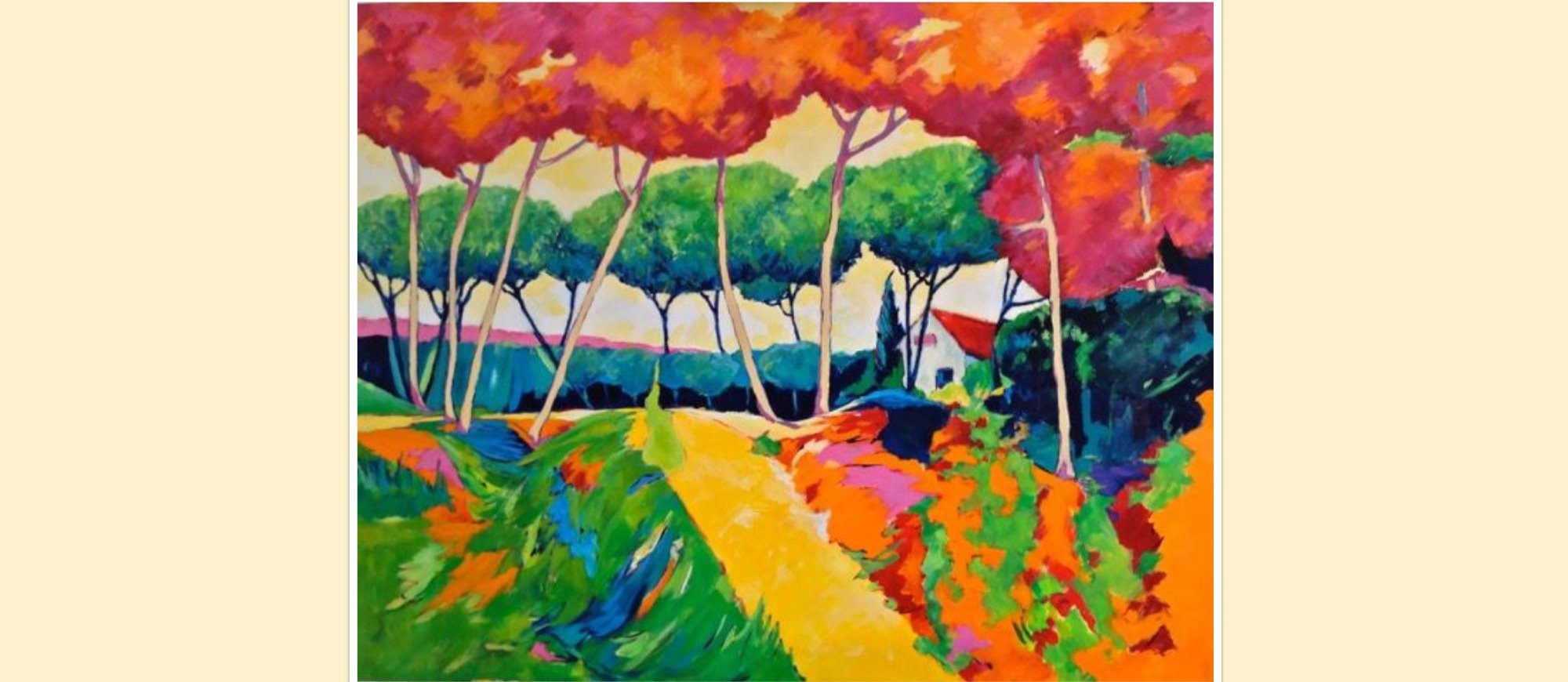 Artiste Peintre St Tropez annick mckenzie in st tropez - st tropez luxury